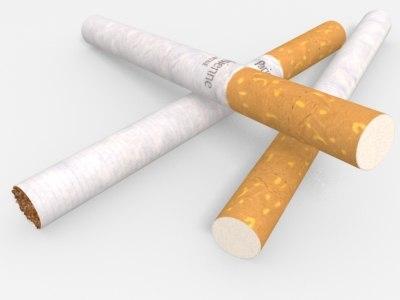 cigarette 3d model