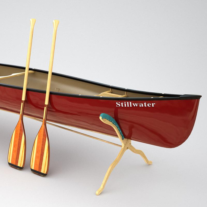 3d canoe venture ranger model