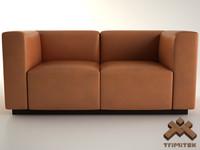 3d model of sofa walter knoll