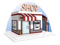 mini shop 3d max