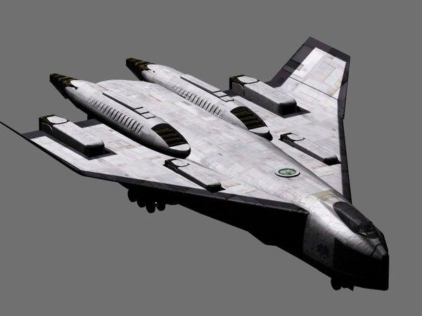 shuttle avatar 2009 3d model