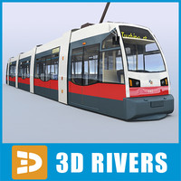 Vienna tramway new by 3DRivers