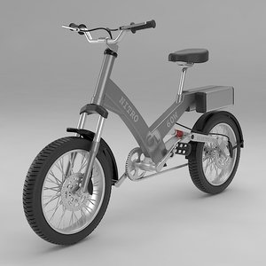 3d model electric bike