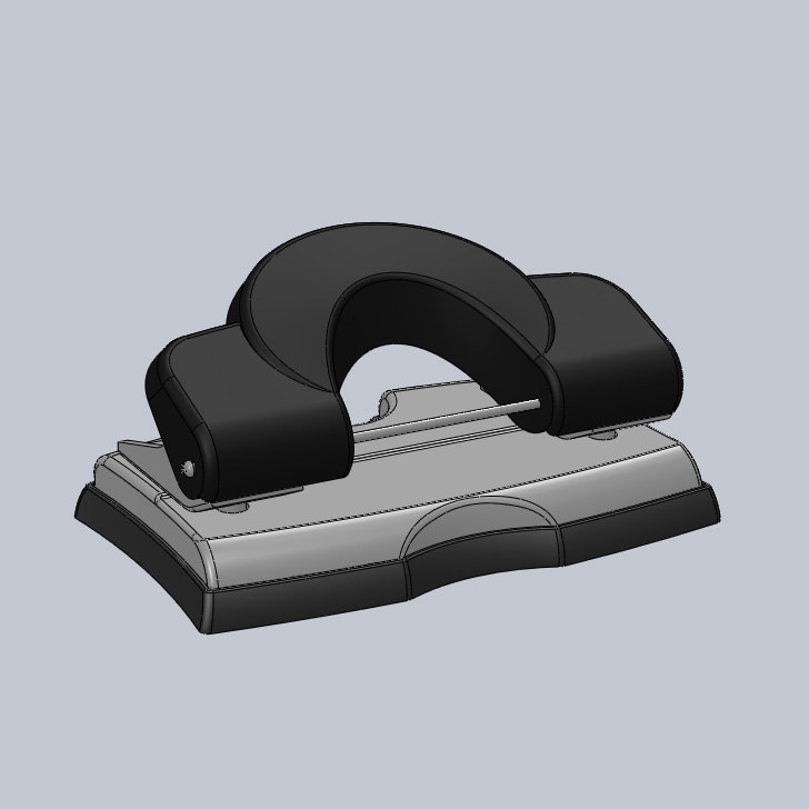 3d ige paper hole punch