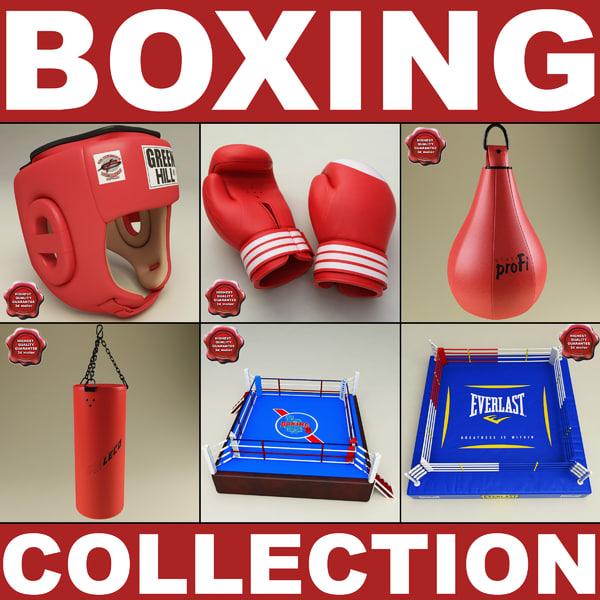 boxing v2 3d model