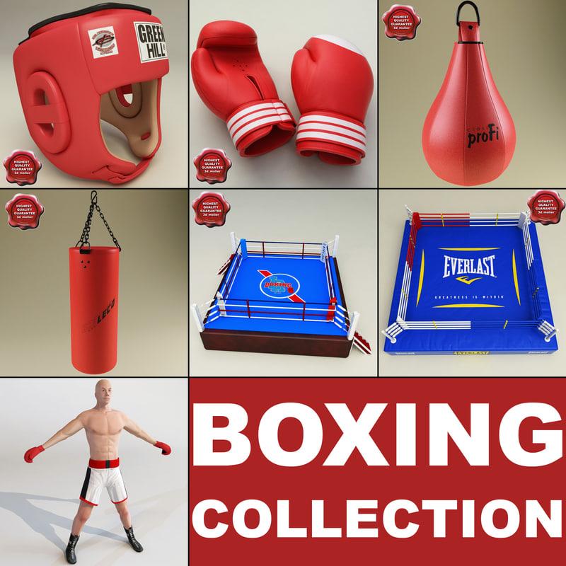 3d boxing v3 model