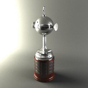 maya libertadores america cup trophy