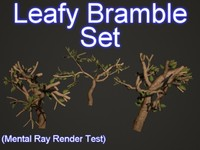 set leafy bramble 3d 3ds