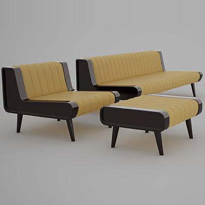 3d pmco suite 50 sofa armchair