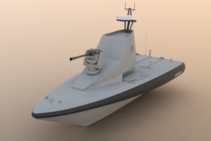 3d unmanned water vehicle