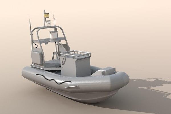 unmanned seafox c4d