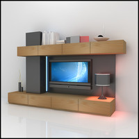 TV / Wall Unit Modern Design X_05 Entertainment Center