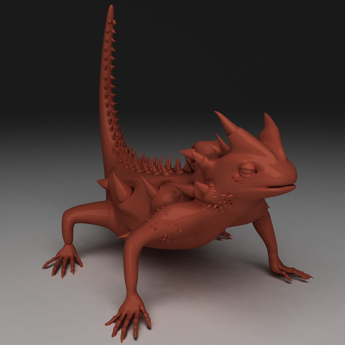 3d thorny devil model