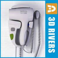 aSDin hairdryer by 3DRivers
