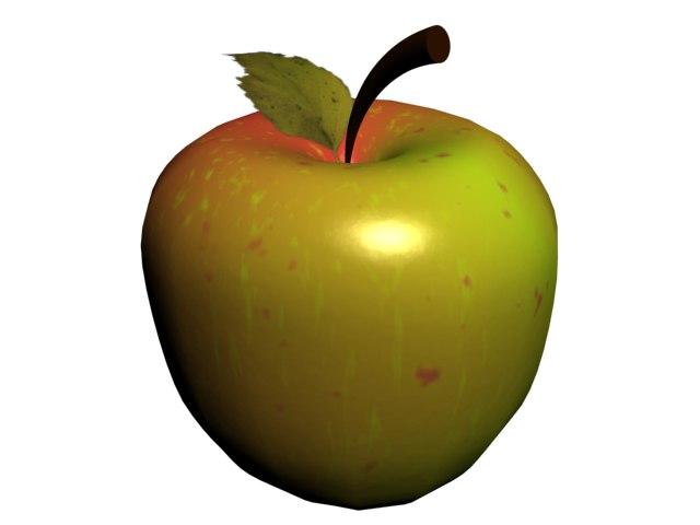 Открытки, картинка яблоки анимация