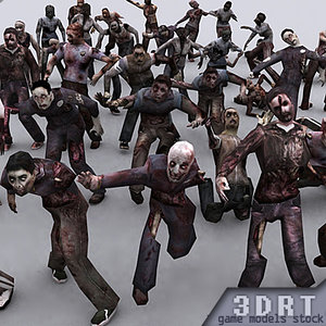 zombies male female max