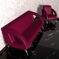 Couch and Chair 002