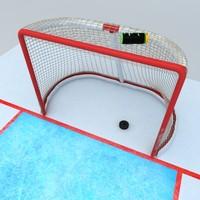 Obiettivo di hockey