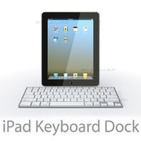 3ds apple ipad dock keyboard