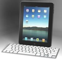 Apple iPad with Keyboard Dock
