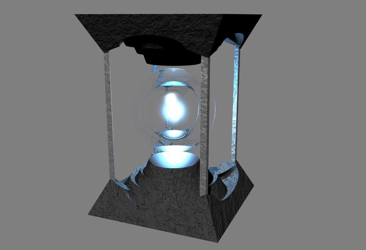 3d mystical orb model