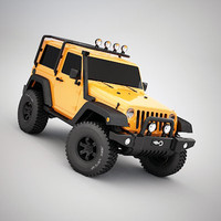 3d model suv offroad vehicle
