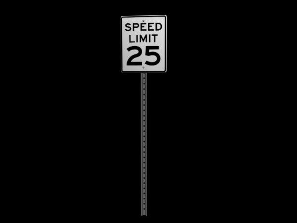 3d model speed limit