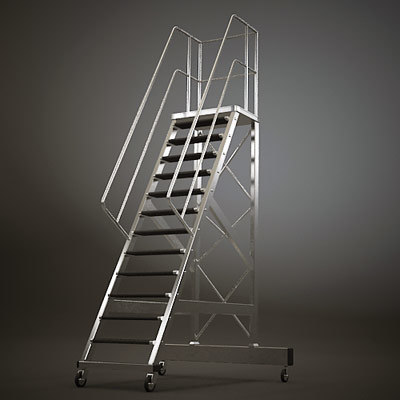 storage ladder 3d model