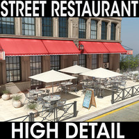 street restaurant 3ds