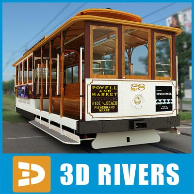 san francisco tramway 3ds