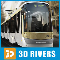 Brussels tramway by 3DRivers