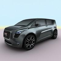 2010 gmc granite concept 3d model