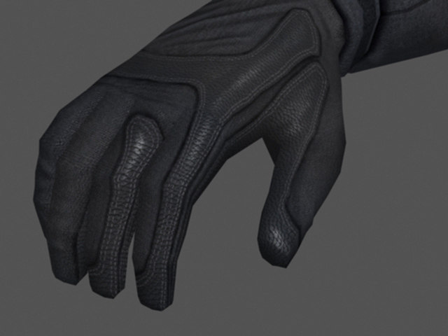 3d person arms model