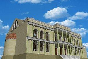 3ds reconstruction basilica maxentius