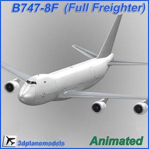 b747-8 generic white 747 max