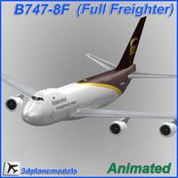 B747-8F United Parcel