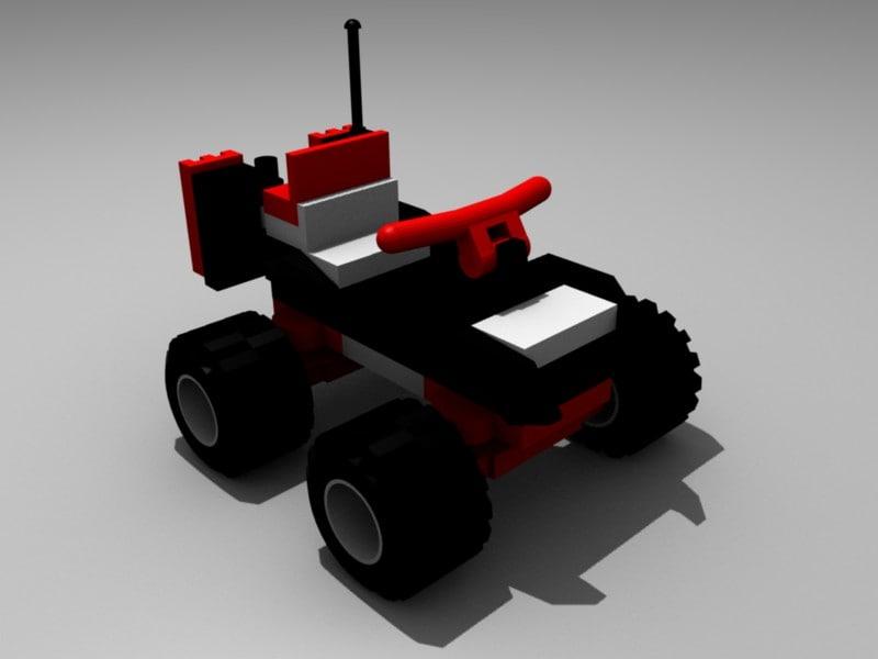 3d 4 wheeler model
