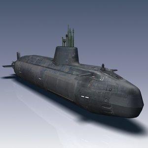 maya astute class attack submarine