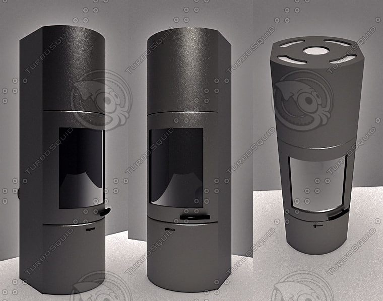 austro flamm tower xtra 3d model