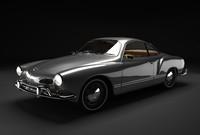 3d model classic car