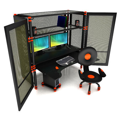 workstation cabin max