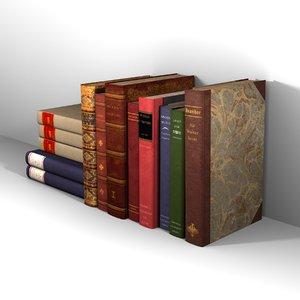 13 books 3d 3ds