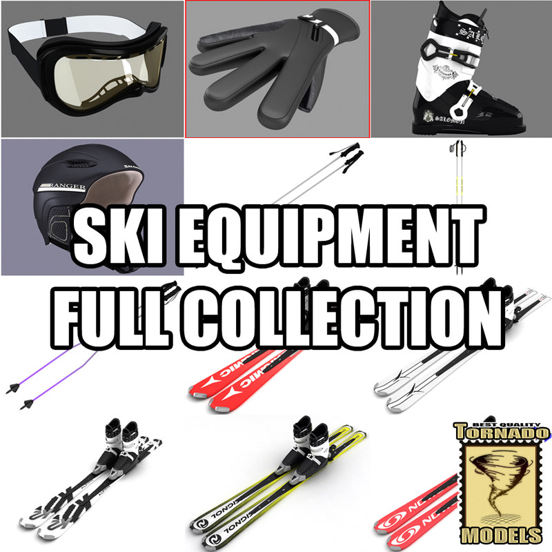 3ds max skis v2