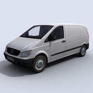 3d model of van