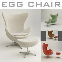 Egg Chair 3dsmax