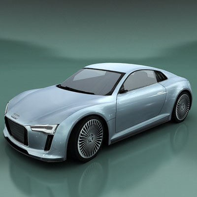 3d vehicle e-tron