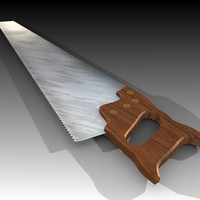 3ds max hand saw