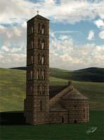 monestir taull 3d model