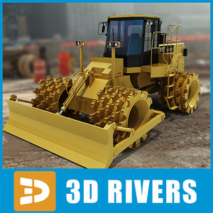 3ds max soil compactor