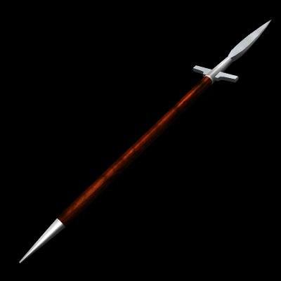 spears medieval 3d model